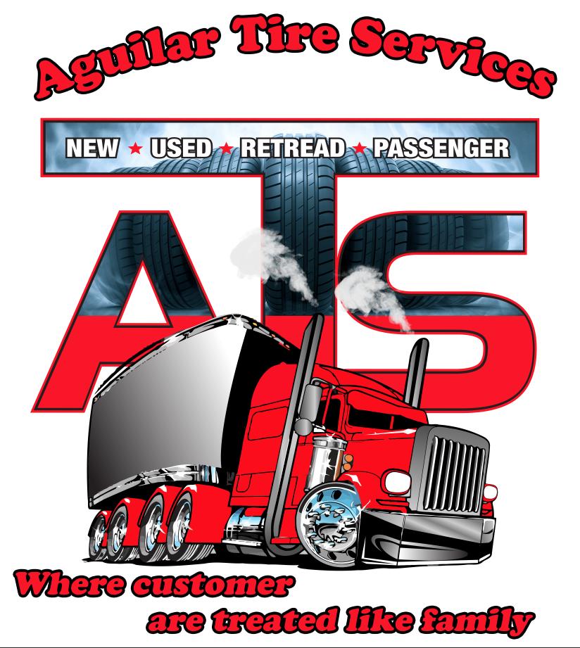 aguilar tire services logo